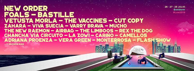 The Vaccines, nueva confirmación para el Low Festival 2019
