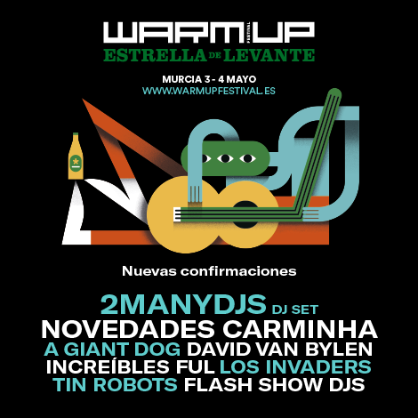 2manydjs al Warm UP Estrella de Levante 2019