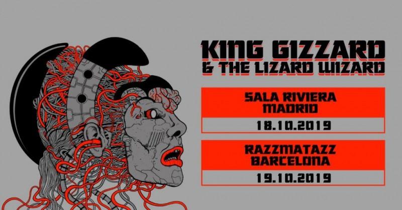King Gizzard & The Lizard Wizard visitarán Madrid y Barcelona en octubre de 2019