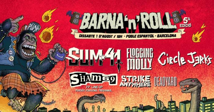 Confirmado cartel para el Barna'N'Roll 2020